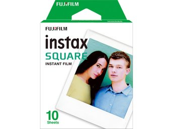 SQ10 Fujifilm Instax Film för Instax Square Camera - 10 Pack