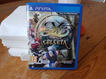 Ys: Memories of Celceta PS Vita - Hyllinge - Ys: Memories of Celceta PS Vita - Hyllinge