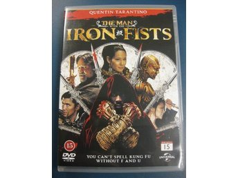THE MAN WITH THE IRON FISTS - (DVD RELEASE SVERIGE 2013)