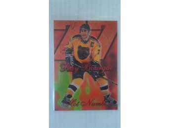Ray Bourque Insert - 1996-97 Flair - Hot Numbers !!!