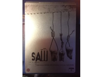 Ny! SAW iii Limited DVD COLLECTORS EDITION STEELBOOK - Dansk utgåva: OOP!