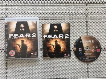 F.E.A.R. 2: Project Origin till Playstation 3, PS3, komplett