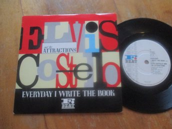 "Elvis Costello and The Attractions ""Everyday I Write The Book/Heathen Town"""