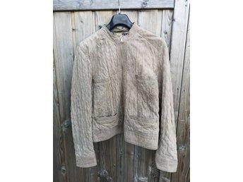 Mjuk och skön Läderjacka size 40 ifrån MQ (344695007) ᐈ Köp