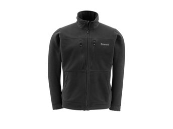 Simms ADL fleece jacket M medium Färg Black. Jacka Flugfiske Flyfishing Montana