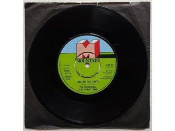 """ALEX HARVEY BAND 'Boston Tea Party' 1976 UK 7"""" - Bröndby - ALEX HARVEY BAND 'Boston Tea Party' 1976 UK 7"""" - Bröndby"""