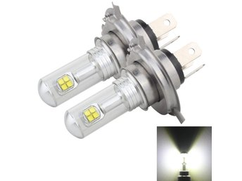 Led Dimljus H4 40W 800 LM 6000K 8 CREE LEDs Car Fog Lights, DC 12V(White Light)