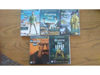 Breaking Bad Säsong 1-5 - Bryan Cranston - Aaron Paul - Laxå - Breaking Bad Säsong 1-5 - Bryan Cranston - Aaron Paul - Laxå