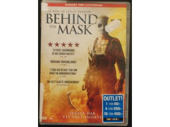 Dvd / BEHIND THE MASK / Svensk Text
