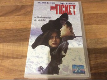 The TICKET HyrVhs, Shannen Doherty,James Marshall