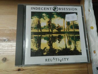Indecent Obsession - Relativity, CD
