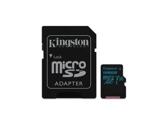 Kingston 128GB microSD Canvas Go, 90R/45W + SD adapter