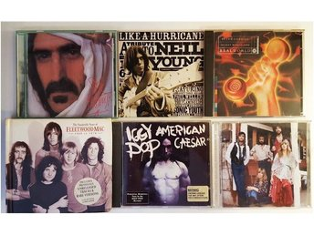 35st CD Danzig,Frank Zappa,Neil Young,New Order,Enimen,mm