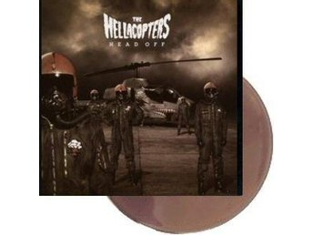 Hellacopters -Head off LP Brown vinyl ltd 500 copies