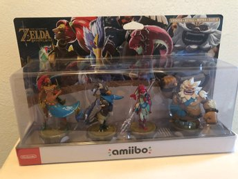 Zelda Breath of the Wild amiibo 4st