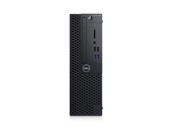 Dell Optiplex 3060 SFF i3-8100 8GB 256GB SSD Intel UHD630 DVD RW W10P 1Y Basic N