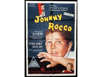 JOHNNY ROCCO (1958) COLLECTOR'S DVD-R  CRIME GANGSTER FILM