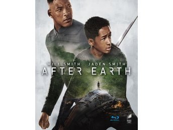 After Earth (Blu-ray)-Will Smith och Isabelle Fuhrman.