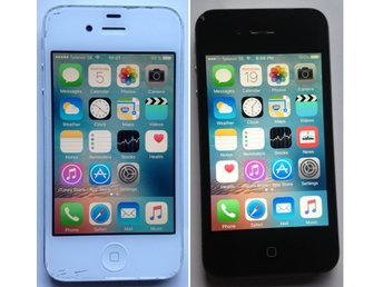 Apple iPhone 4 med USB laddare, Telenor