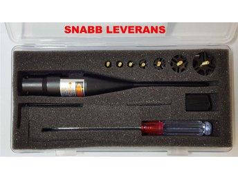 Bore sighter Laser till .177 - .78 kaliber - Inskjutningshjälpmedel - Alvhem - Bore sighter Laser till .177 - .78 kaliber - Inskjutningshjälpmedel - Alvhem