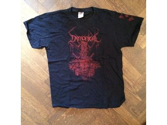 Demonical T-shirt (black death thrash metal)