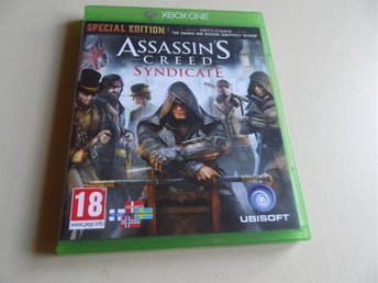 XBOX ONE SPEL   ASSASSINS CREED SYNDICATE