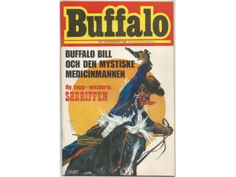 Buffalo Bill 1970 Nr 13 VF/NM - Vikingstad - Buffalo Bill 1970 Nr 13 VF/NM - Vikingstad