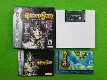 Golden Sun The Lost Age Komplett GBA Gameboy Advance