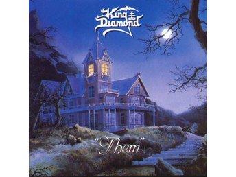 """King Diamond - """"Them"""" +3 (1988) CD, Reissue, Roadrunner Records, Remastered, New - Ekerö - King Diamond - """"Them"""" +3 (1988) CD, Reissue, Roadrunner Records, Remastered, New - Ekerö"""