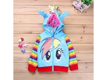 Rainbow Dash My Little Pony Min Lilla Ponny Hoodie Huvtröja Tröja Fri Frakt - Wuzhou Guangxi - Rainbow Dash My Little Pony Min Lilla Ponny Hoodie Huvtröja Tröja Fri Frakt - Wuzhou Guangxi