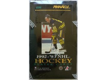 1992/1993 Pinnacle US Edition NHL Hockey Box