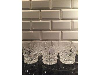 Whisky tumbler böhmisk kristall - Trelleborg - Whisky tumbler böhmisk kristall - Trelleborg
