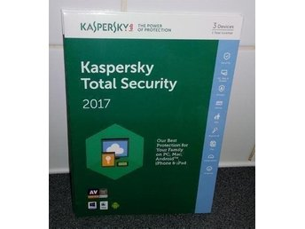 Kaspersky Total Security 2017 Multi Device, 3 PC, 1 År