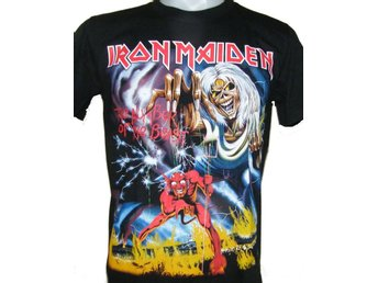 T-SHIRT: IRON MAIDEN  (Size 3XL)