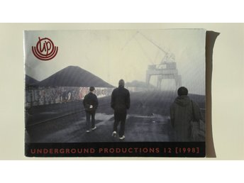 Graffititidningen Underground productions #12, 1998