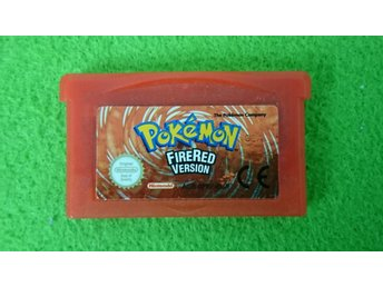 Pokemon Firered Nintendo GBA fire red
