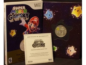 SUPER MARIO GALAXY COLLECTORS COIN Nintendo USA
