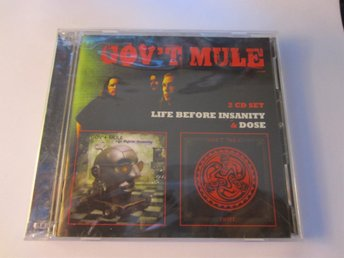 govt mule-life before insanity/dose 2lp på 2cd