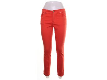 Lindex, Jeans, Strl: 36, Orange