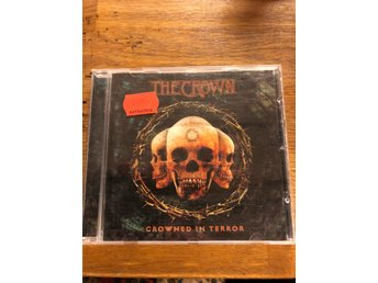 "The Crown ""Crowned in terror"" cd Entombed, Death Metal, At the Gates"