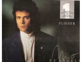 "Eurovision 1989 Germany: Nino de Angelo – Flieger/Laureen – 2 track 12"" VINYL 45"