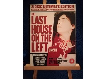 The last house on the left (1972) - Oklippt - 3 disc ultimate edition DVD BOX