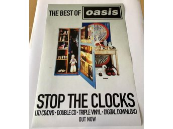 OASIS STOP THE CLOCKS 2006 POSTER