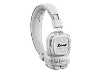 Marshall Major III (3) BT White Trådlösa Bluetooth Hörlurar NYA Kvitto  Garanti ccf9c895b4346