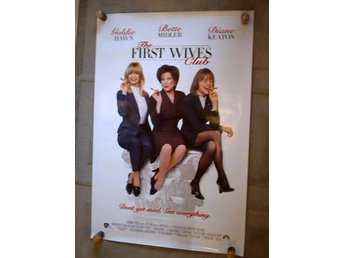 THE FIRST WIVES CLUB Bette Midler  ÅR 1996 70X100 CM
