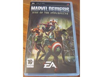 Psp Spel Marvel Nemesis Rise Of The Imperfects