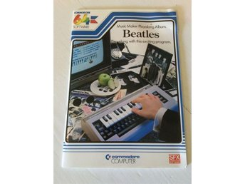 Music Maker Playalong Album BEATLES for C64