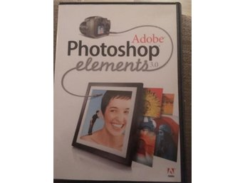 Adobe Photoshop elements 3.0 CD och kod