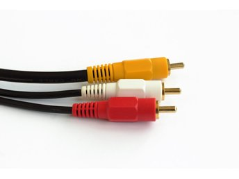 Video-Audio-kabel 1 st RCA Video + 2 st RCA Audio 5 meter