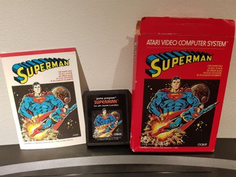ATARI 2600 Superman i original låda